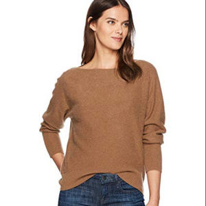 VINCE Cashmere Wide Neck Sweater